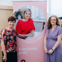 Rozhovory s ženami s karcinomem prsu na našem webu Hovory o zdraví!