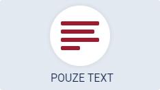 pouze text