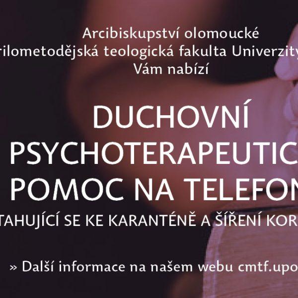 Duchovní a psychoterapeutická pomoc na telefonu